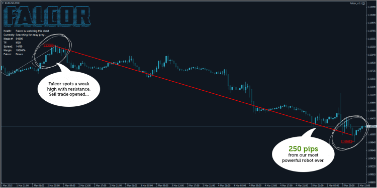 Falcor Forex Robot screenshot #1