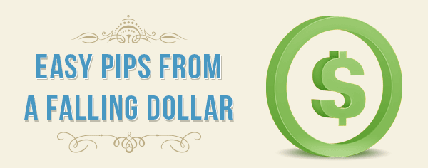 Easy Forex Trades From A Falling Dollar